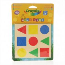 Crayola - Mini Kids - Gommettes géométriques