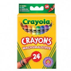 Crayola - 24 Crayons a la cire  - Coloriage