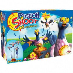 SPLASH-TOYS Jeu de tir aux pigeons électronique - 4 cibles