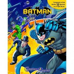DC BATMAN 12 figurines et un tapis de jeu