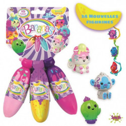 BANANAS Pack de 3 jouets Banane split asst- Plus surprises