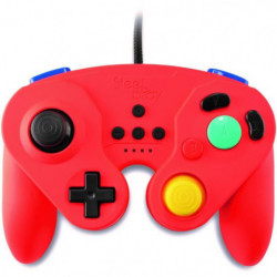 Manette Neo Retro Pad Filaire Steelplay Rouge pour Switch