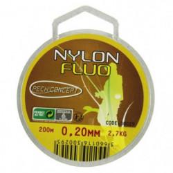 PECH'CONCEPT Nylon Jaune Fluo 20/100 200M