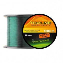 PROWESS Nylon Topline - 0,35 mm - 5,6 Kg - 1000m - Vert