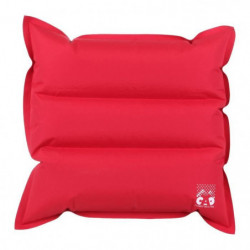 CAO CAMPING Oreiller gonflable en TPU - 40 x 40 cm - Rouge