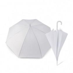 KINSTON Parapluie Canne - Blanc