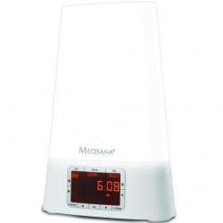 MEDISANA WL460 Réveil simulateur d'aube - Radio FM et MP3