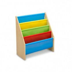 DELTA KIDS - Rangement Enfant bibliotheque beige multicolor