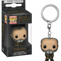Porte-clés Funko Pocket Pop! Game Of Thrones S10: Davos