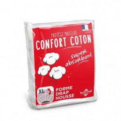 SWEETHOME Protege-matelas confort polycoton - 140x190 cm