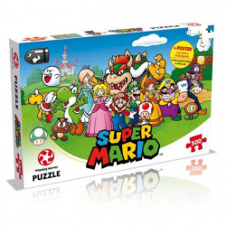PUZZLE - Super Mario and Friends - 500 pieces