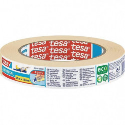TESA Ruban de masquage Protection Basic - 50m x 19mm
