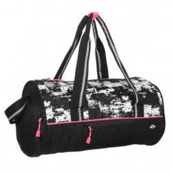 ATHLI-TECH Sac de sport Fitness - Noir, rose et blanc