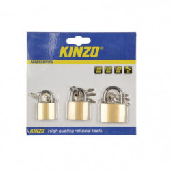 KINZO Lot de 3 cadenas