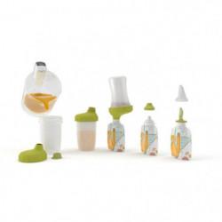 BABYMOOV Starter Kit Foodii? avec Gourdes Réutilisables Bébé