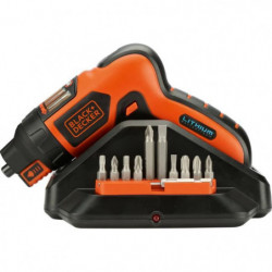 BLACK & DECKER Tournevis sans fil - AutoSelect - 3.6V Li-ion