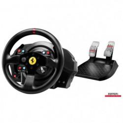 Volant de Course+Pédalier T300 Ferrari GTE PS4 - PS3 - PC
