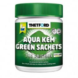THETFORD Sachets Aqua-Kem vert - Traitement écologique