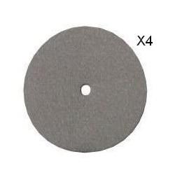 DREMEL 4 disques emeri pour polissage 425