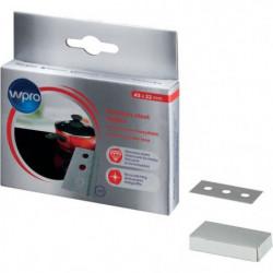 Wpro BLA014 - Boîte de 10 lames en acier inoxysable