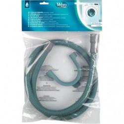 Wpro TVS154 - Tuyau de vidange droit / droit 1,5 m