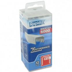 RAPID 5000 agrafes n°53 Rapid Agraf 12mm
