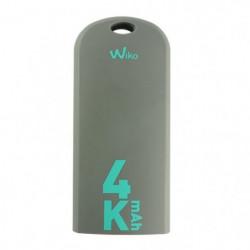 Wiko Batterie de Secours 4000mAh Gris Bleen