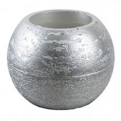 CANDLE BALL Set de 2 bougies LED - Ø18,2 x H.9,5 cm - Framboise