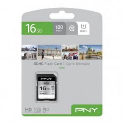 PNY Carte mémoire SD 16Go Elite C10 U1