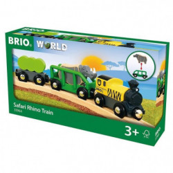 BRIO WORLD Train rhino safari