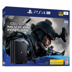 PS4 Pro 1To Noire + Call of Duty Modern Warfare