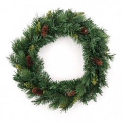 Couronne de Sapin artificiel - 60 cm
