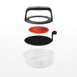 KARIS Burger press Oxo F.1.25 - Noir et rouge