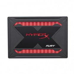 """HYPERX - Disque SSD Interne - Fury RGB - 240 Go - 2.5"""""""