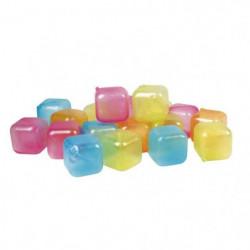 GIMEL Lot de 18 cubes glaçons réutilisables