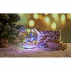 Guirlande filaire de Noël 40 mini-LED intérieure - 2 m