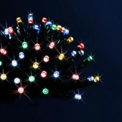 Guirlande extérieure programmable - Électrique - 80 LED
