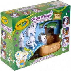 Crayola - Color'N'Wash - Mes Animaux a Colorier