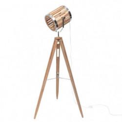 SPOT Lampadaire cinéma trépied - 65 x 55 x H151 cm