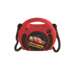 CARS - Lecteur CD Karaoké Enfant avec 2 microphone