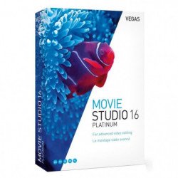VEGAS Logiciel Movie Studio 16 Platinum