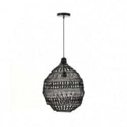 ELS BANYS Suspension Bali - Maille métallique - Noir