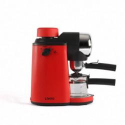 LIVOO  DOD159 Machine a café expresso - Rouge