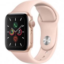 Apple Watch Series 5 GPS 40 mm Boîtier en Aluminium Or