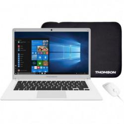 "THOMSON PC Portable + Souris + Sacoche - TH14WH64MS - 14,1"""