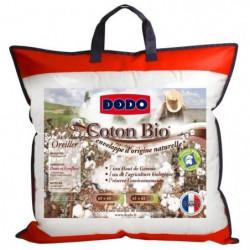 DODO Oreiller coton Bio - 60 x 60 cm - Blanc