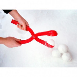NIJDAM Snowball maker Pince a boules de neige - Bleu