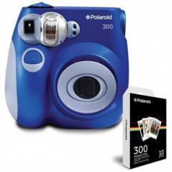 Pack POLAROID PIC300 Bleu Appareil photo instantané compact