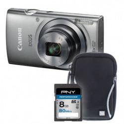 IXUS 160 SI+sacoche+carte 8Go -  Appareil photo compact