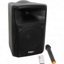 IBIZA SOUND MOV8-CD - Systeme sono portable autonome avec cd